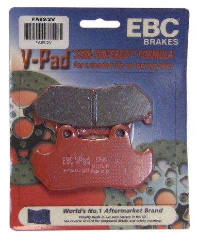 EBC Brakes FA692V Semi Sintered Disc Brake Pad