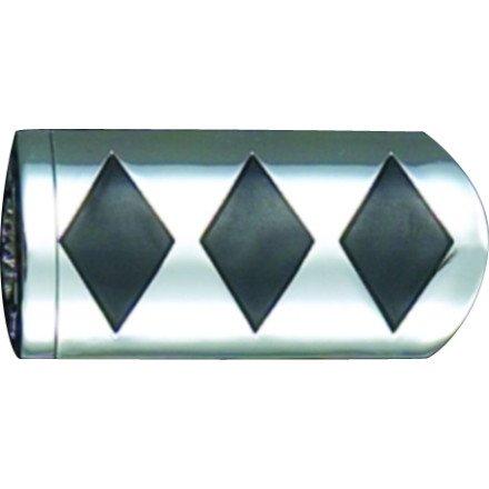 01-05 HONDA GL1800 Show Chrome Slider Brake Pedal Cover - Diamond