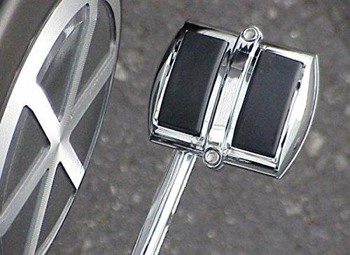 i5 Chrome Rear Brake Pedal Cover for Harley Davidson Sportster Dyna Wide Glide V-Rod