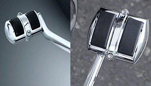 i5 Chrome Rear Brake Pedal Gear Shift Pedal Covers for Honda Shadow 750 Aero Phantom