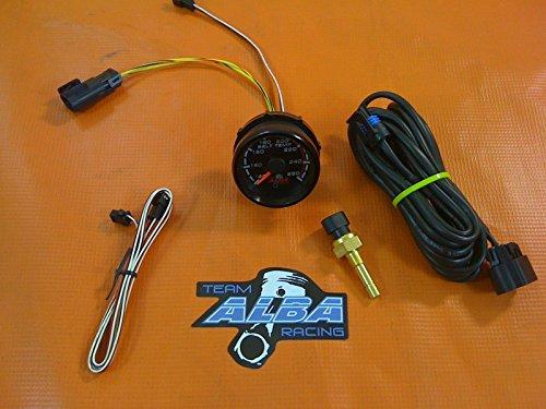 POLARIS RZR XP 1000 800 900 4 UTV Belt Temperature Gauge Kit Alba Racing