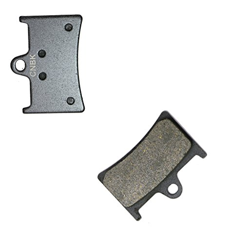 CNBK Front Right Brake Shoe Pads Resin for YAMAHA Street Bike FZ6 600 Fazer S2 07 08 09 10 11 12 13 14 15 2007 2008 2009 2010 2011 2012 2013 2014 2015 1 Pair2 Pads