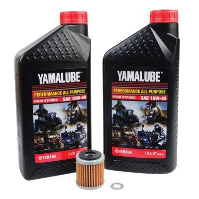 Tusk 4-Stroke Oil Change Kit -Fits Yamaha WR250F 2001-2009