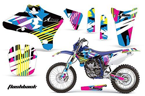 Yamaha WR250F WR450F 2005-2006 MX Dirt Bike Graphic Kit Sticker Decals WR 250 450 F FLASHBACK