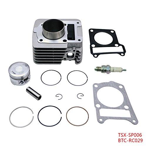 FLYPIG Cylinder Piston Rings Top End Set Kit Fits Yamaha TTR 125 TTR125 TTR-125 2000 2001 2002 2003 2004