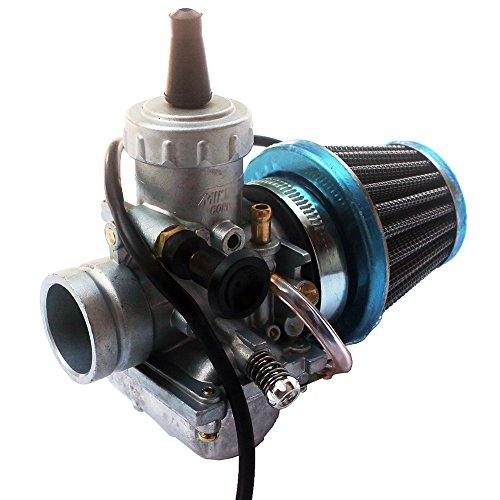 KIPA Carburetor air filter kit for YAMAHA TTR125 TTR 125 YAMAHA Big Wheel 200 DT100 DT125 RT180 DT100 DT125 DT175 DT 175 Enduro Dirt pit bike Mikuni VM24 Carburetor Carb Air Filter