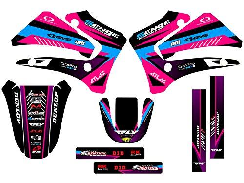 Senge Graphics 2000-2007 Yamaha TTR 125 Surge Pink Graphics Kit