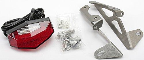 Dr Dry Motoled Edge-2 Aluminium Tail Light Holder w LED Light Red WR250RX