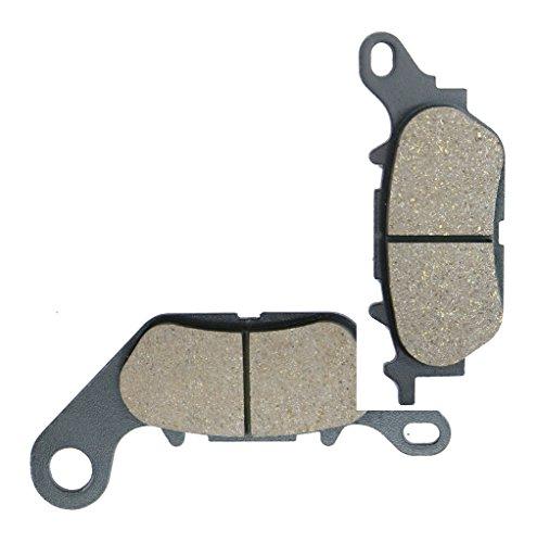 CNBK Front Brake Pad Resin for YAMAHA Street Bike YBR125 YBR 125 Custom 08 09 10 11 12 13 14 15 2008 2009 2010 2011 2012 2013 2014 2015 1 Pair2 Pads