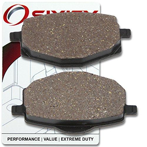 Sixity Front Ceramic Brake Pads 2010-2013 Yamaha YBR 125 ED Set Full Kit 4P2C 4P2J Cast Wheel Complete