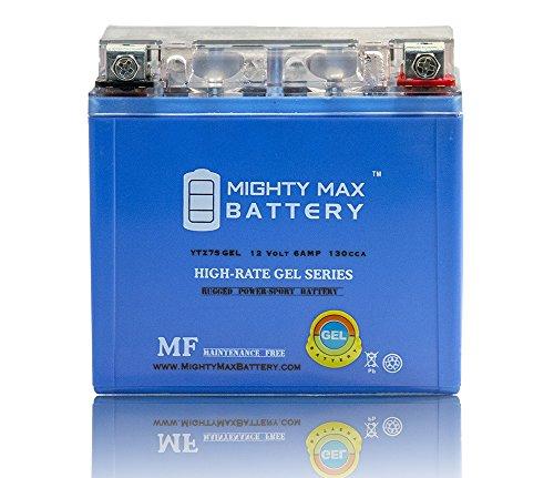 12V 6AH GEL Battery for Yamaha XT250 Serow 2005-2013 - Mighty Max Battery brand product