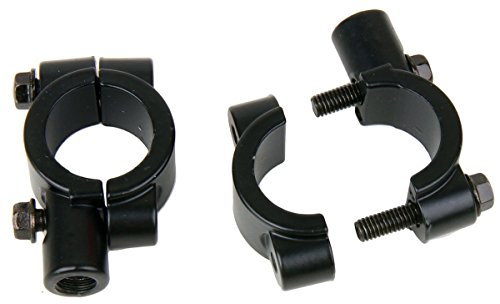 Black Motorcycle 78 22mm handle bar Clamp with 10mm clockwise thread Mirror Mount for 2013 Yamaha WR250F Team Yamaha