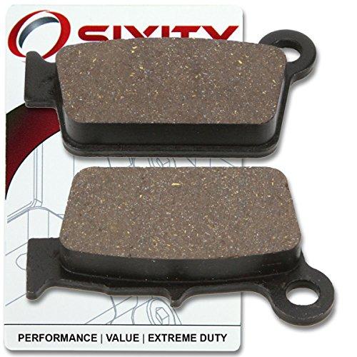 Sixity Rear Ceramic Brake Pads 2012-2013 Yamaha WR250F Set Full Kit FW FX FY FZ FA FB FD 4T Complete