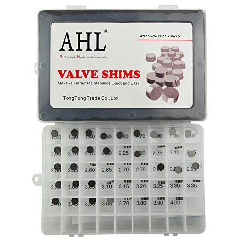 AHL Adjustable Valve Shim Kit 948mm OD 120mm-400mm Thick for Suzuki RMZ450 2005-2012 44pcs