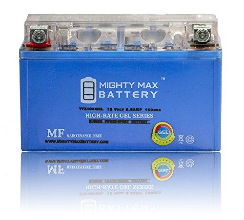 12V 86AH 190CCA GEL Battery for Suzuki 450 LT-R450 QuadRacer '06-'11 - Mighty Max Battery brand product