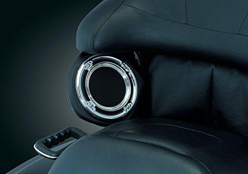 Kuryakyn 3792 Rear Speaker Accents For Harley-Davidson KU 3792