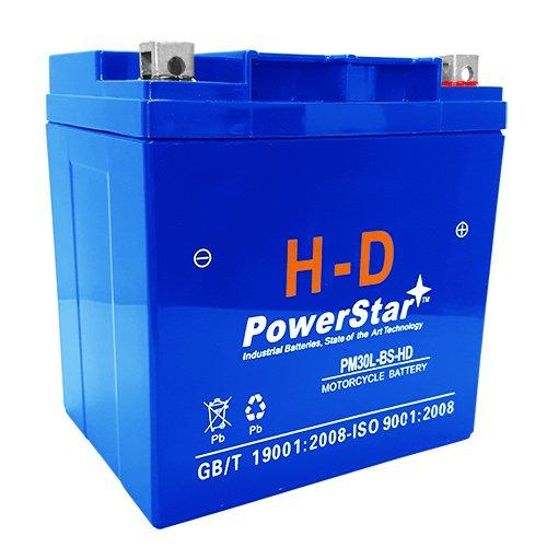 385CCA YTX30L-BS Battery for HARLEY-DAVIDSON FL FLH Series -3 Year Warranty