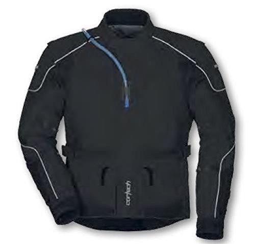 Cortech Sequoia XC Adventure Touring Jacket without Back Pack Black Medium XF-10-8920-0005-15