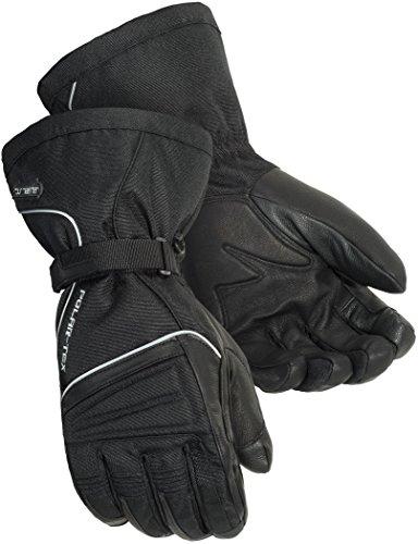TourMaster Mens Polar-Tex 30 Motorcycle Gloves Black X-Large
