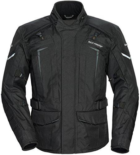 TourMaster Mens Transition Series 5 Jacket Black X-Large 1 Pack