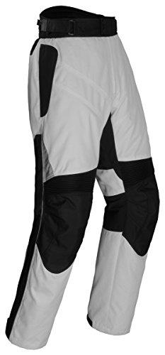 Tourmaster Mens Venture SilverBlack Pants - X-Large