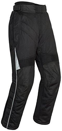 Tourmaster Venture Air 20 Mens Textile Motorcycle Pant Black Short XX-Large