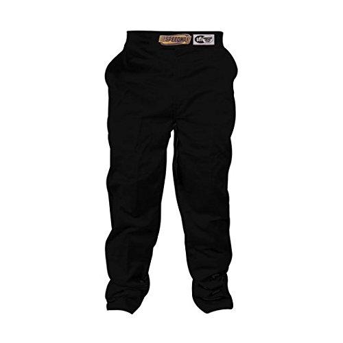 Speedway Black Racing Pants Only SFI-1 Large