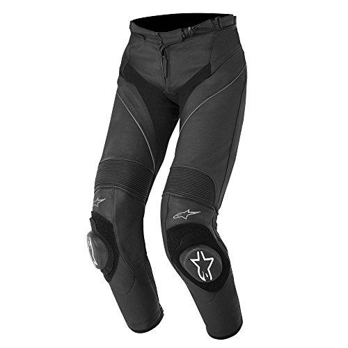 Alpinestars Stella Missile Womens Sport Riding Leather Pants Black 42 EUR