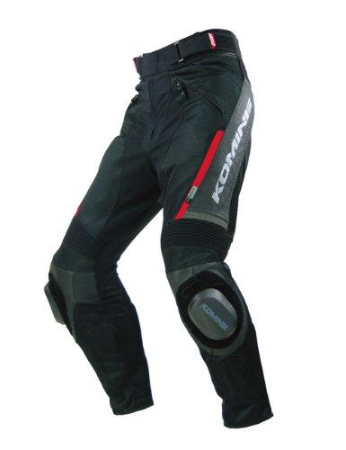 Komine PK-717 Sports Riding Leather M-PNT black L 07-717
