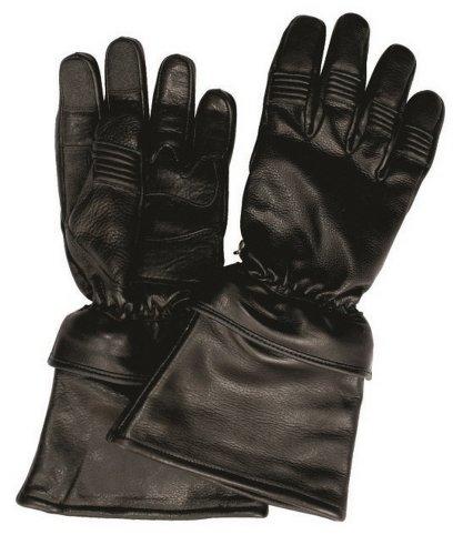 Unisex Adult AL3058 Riding Leather gloves Medium Black