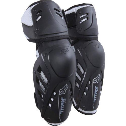 Fox Racing Titan Pro Adult Elbow Guard MotoX Motorcycle Body Armor - Black  LargeX-Large