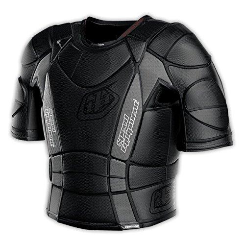 Troy Lee Designs UPS 7850-HW Shirt Adult Undergarment Off-Road Motorcycle Body Armor - Black  Large