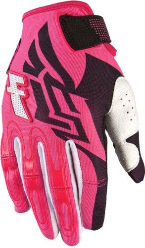 Fly Racing Kinetic Womens MotoXOff-RoadDirt Bike Motorcycle Gloves - BlackPink  4X-Large