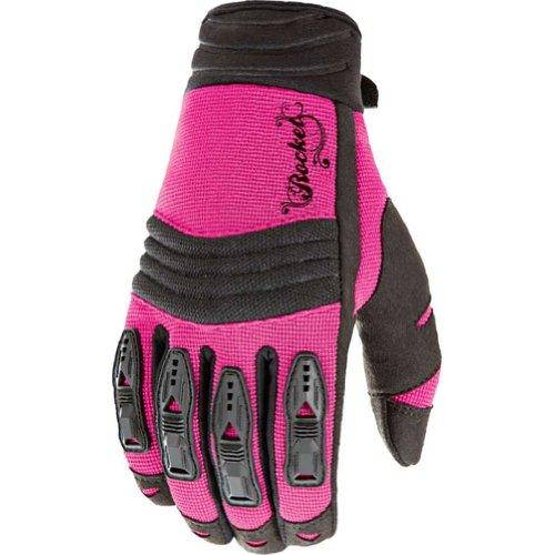 Joe Rocket Velocity Womens Textile On-Road Racing Motorcycle Gloves - PinkBlack  X-Small