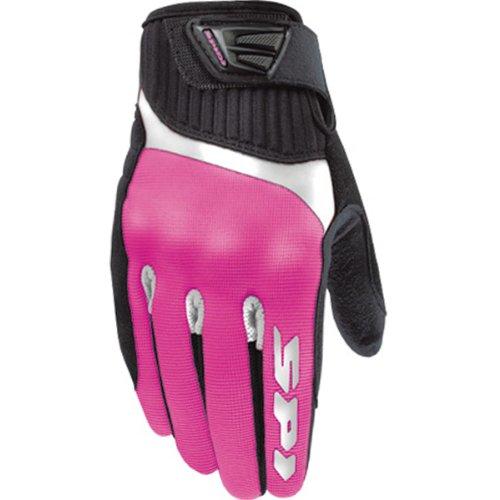 Spidi G-Flash Womens TextileVented Street Bike Racing Motorcycle Gloves - PinkBlack  Medium
