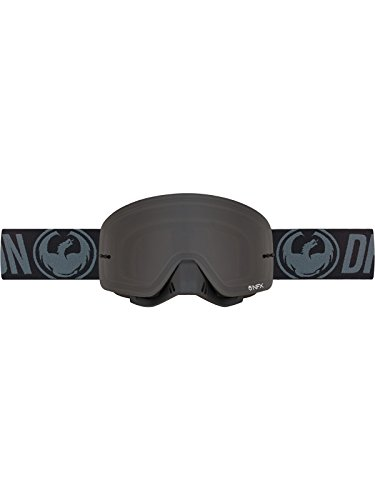 Dragon Black-Smoke Nfx Mx Goggle Default  Black