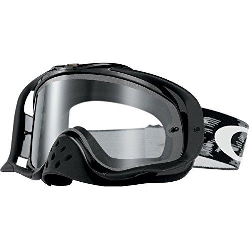 Oakley Crowbar MX Goggles Jet Black FrameClear Lens