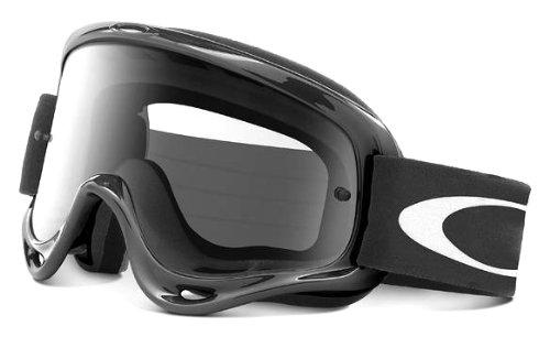 Oakley XS O-Frame MX Goggles Jet Black FrameClear Lens One Size