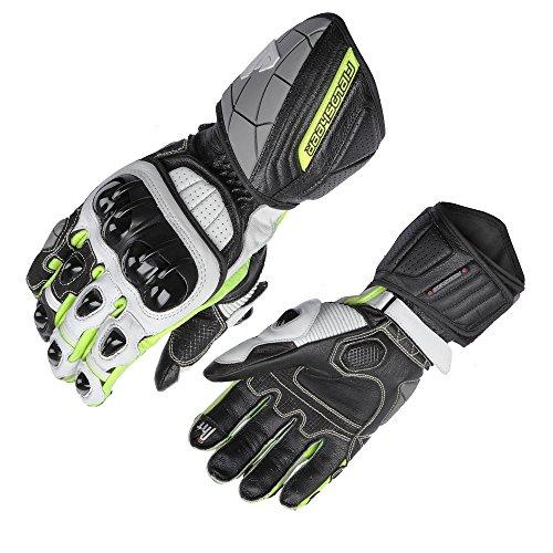 Fieldsheer unisex-adult Race-Pro Glove BlackWhiteHi-Viz XX-Large