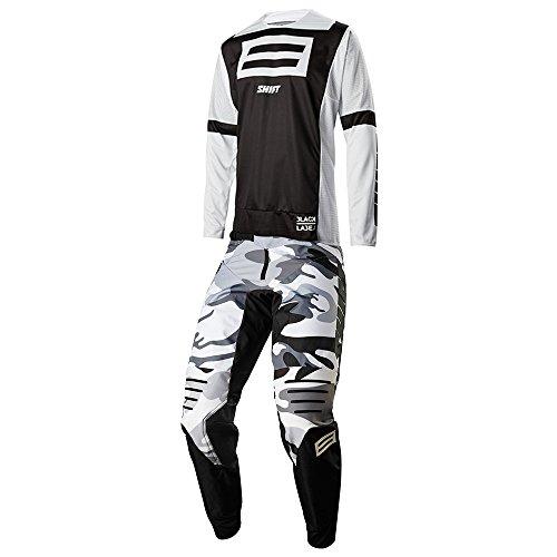 SHIFTMX Shift MX - Black Label GI Fro Black Camo JerseyPant Combo - Size MEDIUM32W