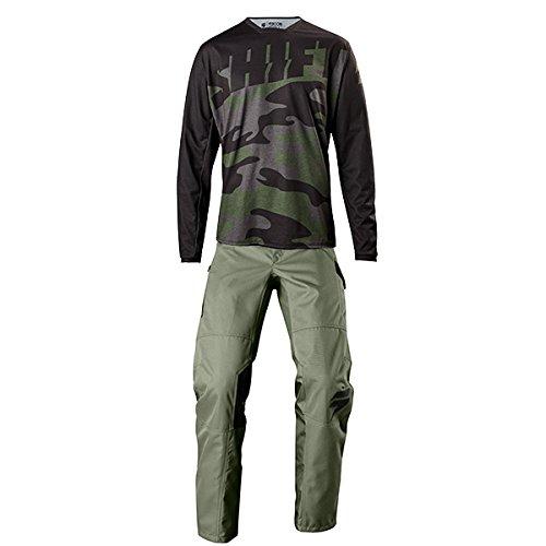 Shift MX - Recon Drift Camo Green Jersey Pant Combo - Size MEDIUM 30W