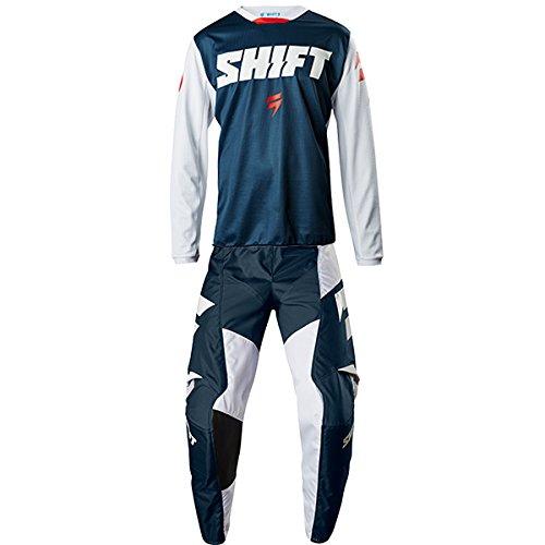 Shift MX - White Label Ninety Seven Navy Jersey Pant Combo - Size LARGE 34W