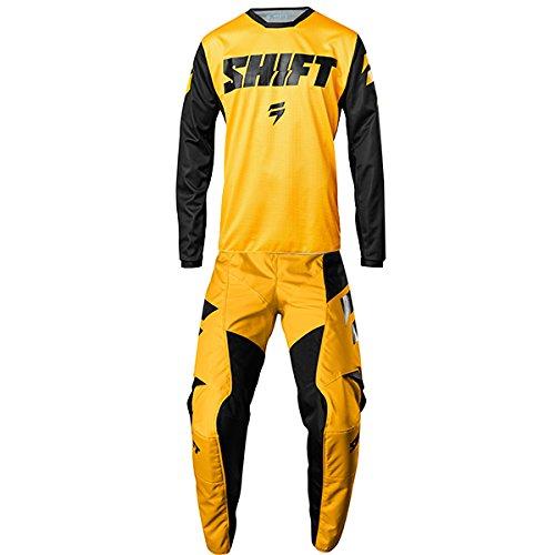 Shift MX - White Label Ninety Seven Yellow Jersey Pant Combo - Size LARGE 32W