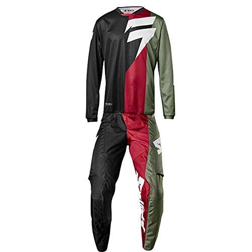 Shift MX - White Label Tarmac Black Jersey Pant Combo - Size LARGE 34W