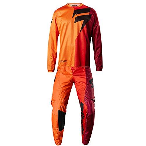 Shift MX - White Label Tarmac Orange Jersey Pant Combo - Size X-LARGE 36W