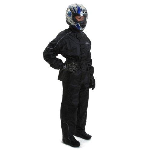 AXO Oxford Dryder 2-Piece Rain Suit Black X-Large