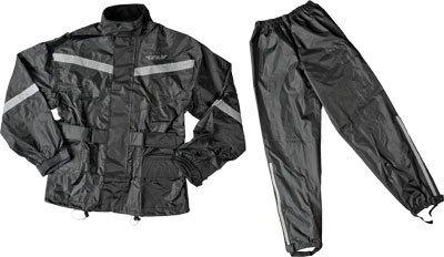 Fly Street 2-Piece Rain Suit - 5X-LargeBlack