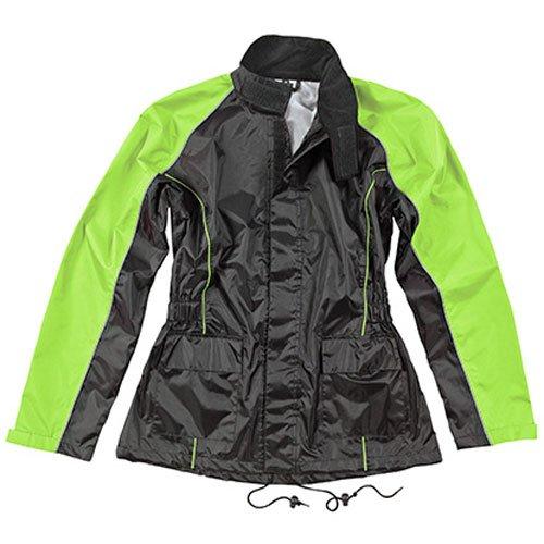 Joe Rocket RS-2 Womens 2-Piece Rain Suit BlackHi-Viz XL