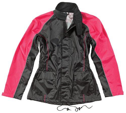 Joe Rocket RS2 Womens 2-Piece Motorcycle Rain Suit BlackPink Medium