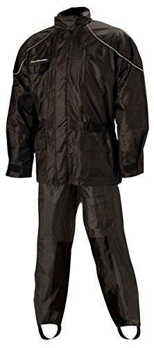 Nelson-Rigg AS-3000 Aston 2-Piece Rain Suit - Black - 3X-Large